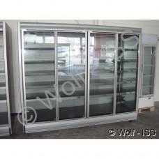 Glasabdeckungen Remis für Wandkühlregale