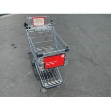 Einkaufswagen Wanzl mit Ablage für Babysafe Nr.20