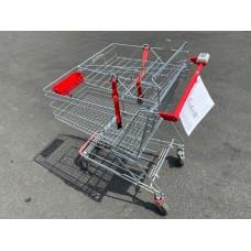 Einkaufswagen Wanzl mit Ablage für Babysafe Nr.21